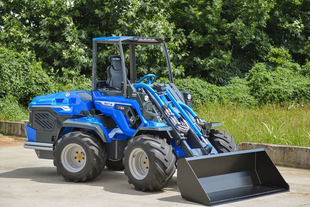 MultiOne mini loader 10 series with bucket without operator 2 / 8