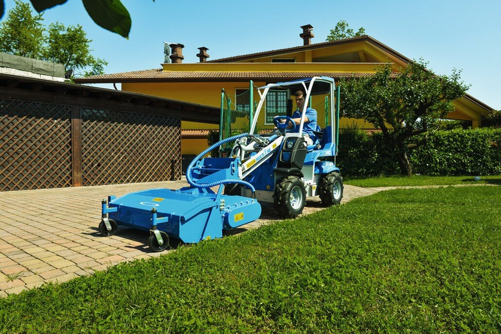MultiOne mini loader 2 series with sweeper